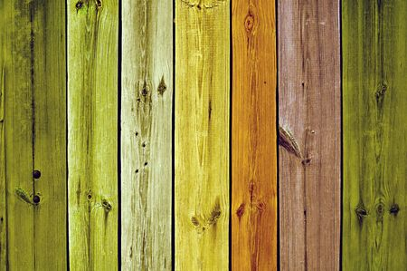 Multicolored Wooden Planks Stock Photo - 7716615