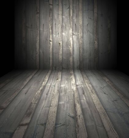 unkempt: Dark Wooden Room