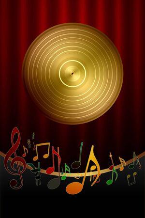 Music Background Stock Photo - 7887123