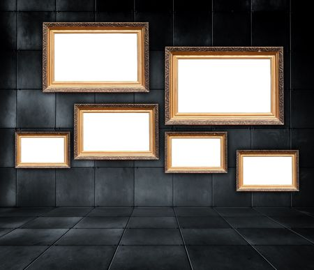 Galer�a de arte  Foto de archivo - 7965737