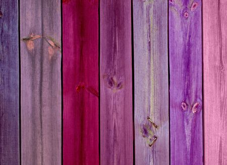 Colorful Wood Planks as Background photo
