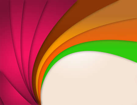 Abstract Curves with Copy Space photo