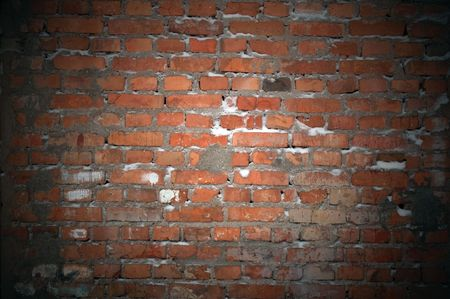 squalid: Dark Brick Wall As Background
