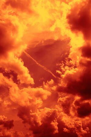 Fiery Sky Stock Photo - 8170576