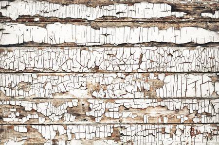 unkept: Cracked Wood Background Stock Photo