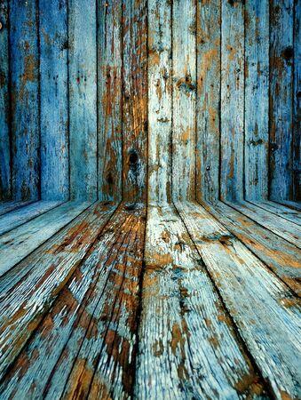 lumber room: Empty Shabby Room