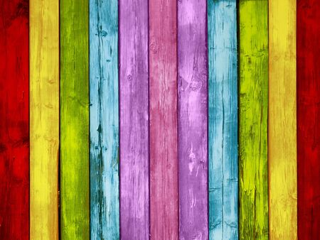 Multicolored Wood Background Stock Photo - 8257494
