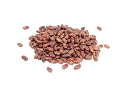 Kidney Beans Isolated on White Background photo