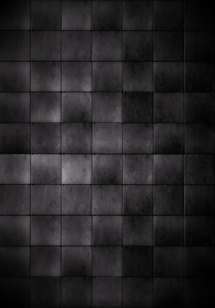 dismal: Dark Tiled Background Stock Photo
