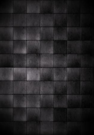 mosaic wall: Dark Tiled Background Stock Photo