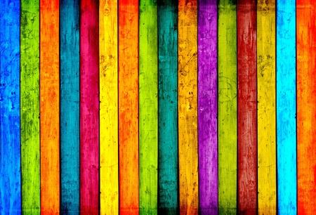 vibrant colors fun: Sfondo di legno colorato Archivio Fotografico