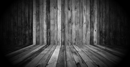 Dark Wooden Room photo