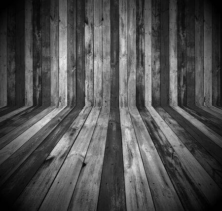 Dark Wooden Room Stock Photo - 9133061