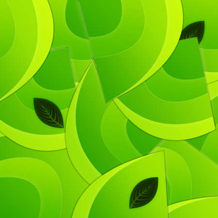 Green Eco Style Background Stock Photo - 9175653