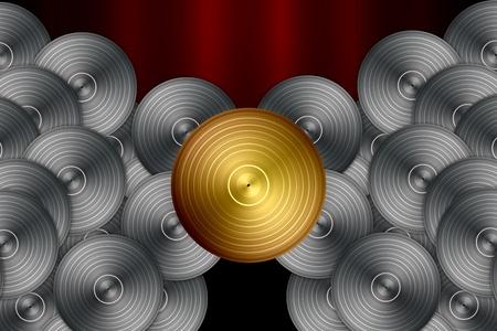 Vinyl Record Background photo