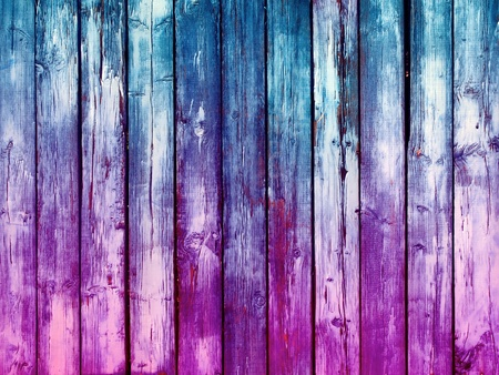 Blue and Pink  Wood Background