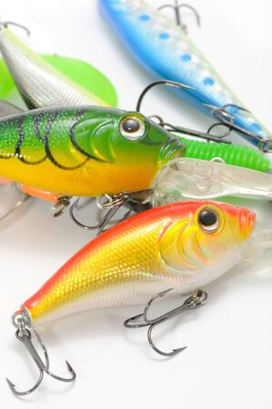 Fishing Lures (Wobblers) Stock Photo - 9655761