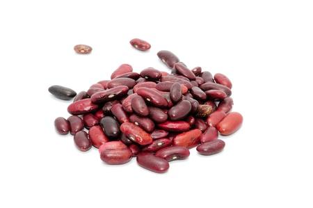 Kidney Beans Isolated on White Background Stock Photo - 9937171