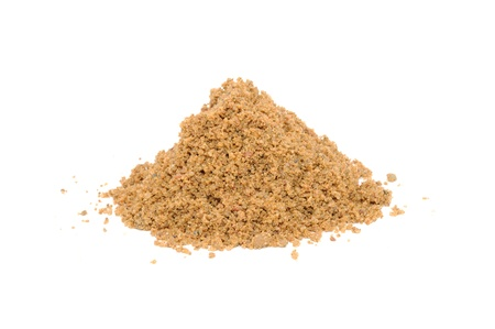 Pile of Sand Isolated on White Background Фото со стока