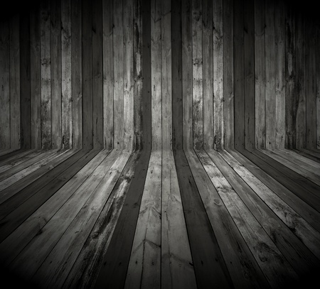 horror background: Dark Wooden Room as Background