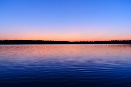 Beautiful Sunrise over Lake Stock Photo - 10518391