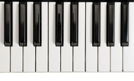 ピアノのキー 写真素材