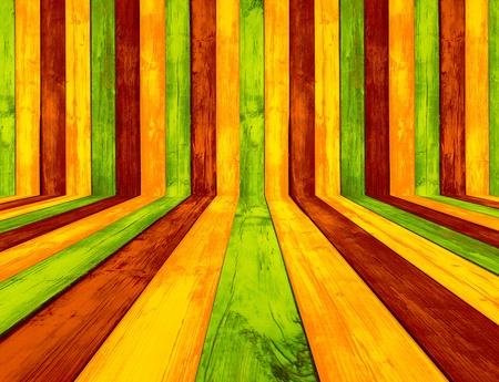 Creative Multicolored Wood Background photo