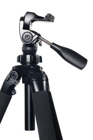 Camera Tripod (Stand) on White Background photo