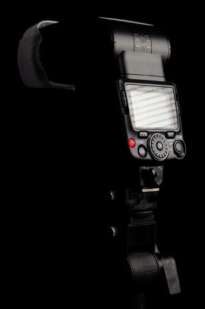 STUDIO SHOT - DECEMBER 2011: Nikon SB-700 Camera Flash Speedlight Stock Photo - 11390301