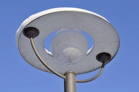 Street Lamp on Blue Sky Background Stock Photo - 12336733