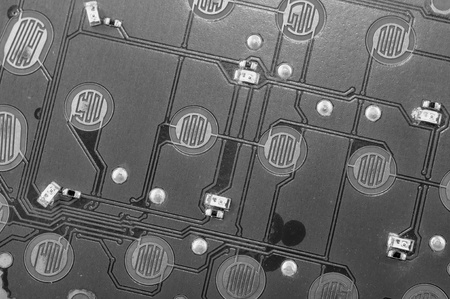 Monochrome Circuit Board Stock Photo - 12511229