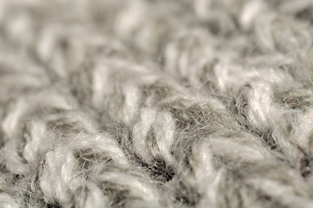 Grey Knitted Background Texture photo