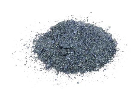 potassium: Potassium Permanganate Isolated on White Background