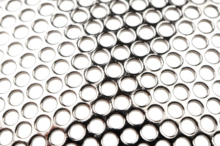 meshy: Metal Grid with Round Cells