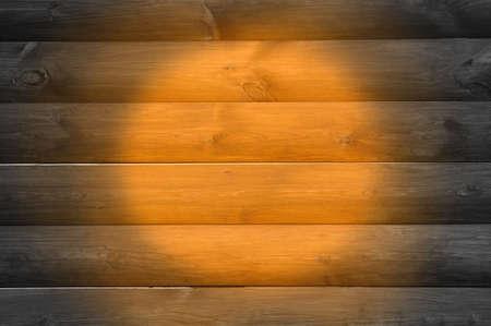 duckboards: Wood Background with Spotlight