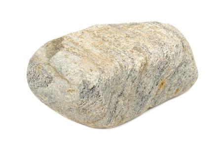 Stone Isolated on White Background Stock Photo - 14403463