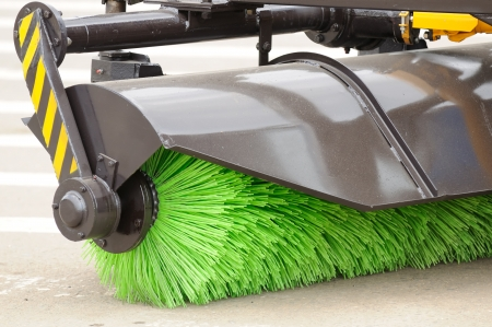 Street Sweeper Broom photo