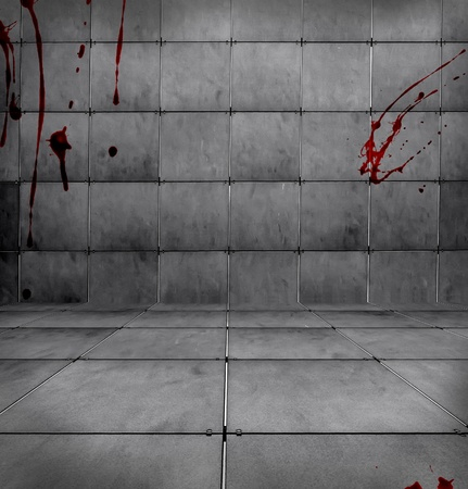 Dark Bloody Room Stock Photo - 14839765
