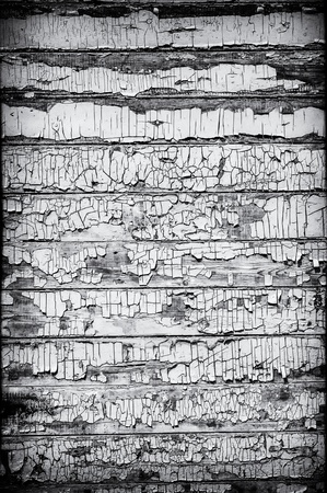 Black and White Grungy Wooden Wall Stock Photo - 15275427