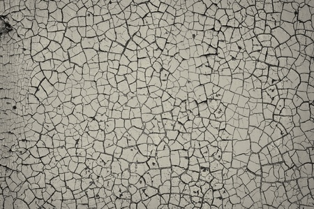 Cracked Painted Wall