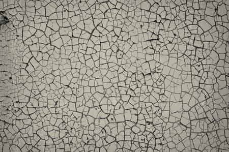 갈라진 금: 금이 그려진 벽 스톡 사진