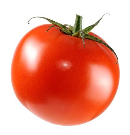 fresh taste: Red Tomato Isolated on White Background