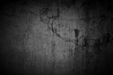 squalid: Dark Concrete Texture With Spotlight Stock Photo