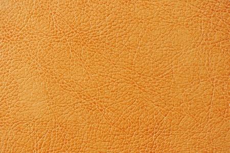 Orange Artificial Leather Background Texture Stock Photo - 17281598