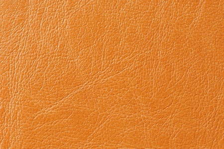 Orange Faux Leather Background Texture Stock Photo - 17281597