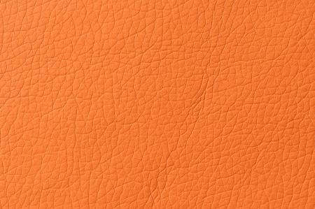 Bright Orange Artificial Leather Background Texture Stock Photo - 17281608