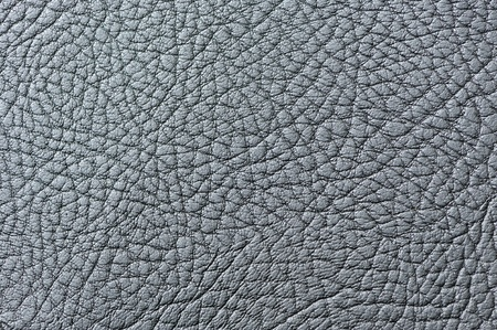 Silver Artificial Leather Texture Close-Up photo