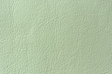 bumped: Light Green Faux Leather Texture Close-Up