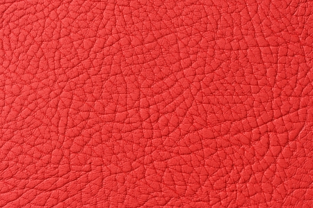 Red Patterned Faux Leather Texture Macro photo