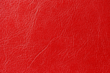 Red Glossy Artificial Leather Texture photo